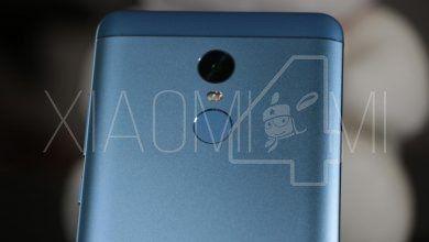 Redmi Note 4X Sensor