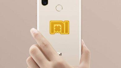smartphone con pegatina