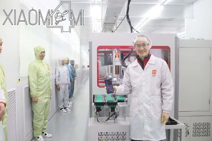 Xiaomi fábrica