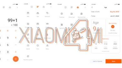 Xiaomi Mi calculadora