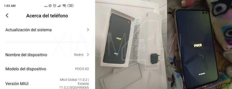 Redmi K30 Poco X2