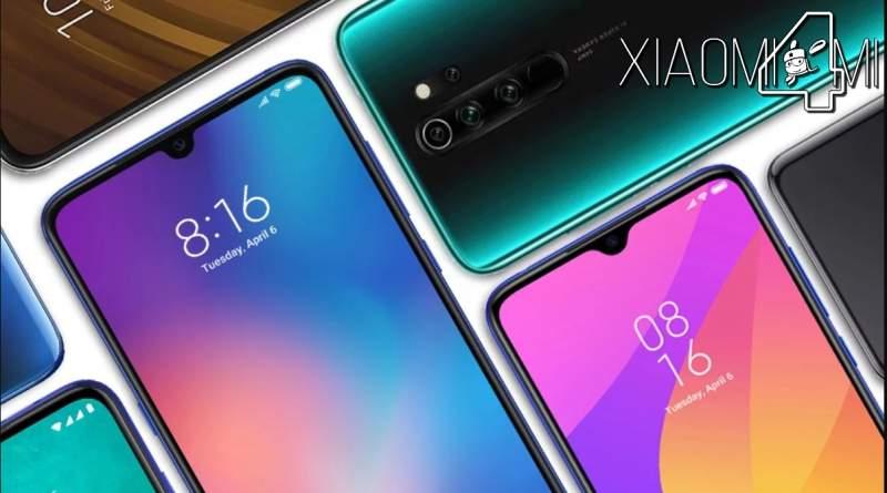 Mejor smartphones lanzado en 2019 por Xiaomi