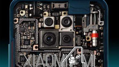 Interior del Xiaomi Redmi K30 Pro