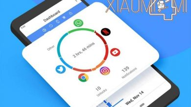 Xiaomi Bienestar digital y control parental