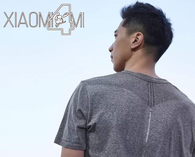 Camiseta antibacteriana Xiaomi