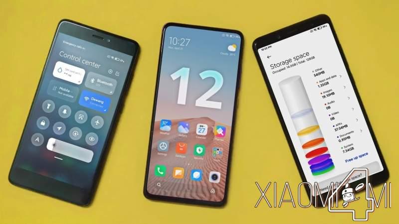 Xiaomi MIUI 12 Xiaomi Mi 10 Pro galeria miui