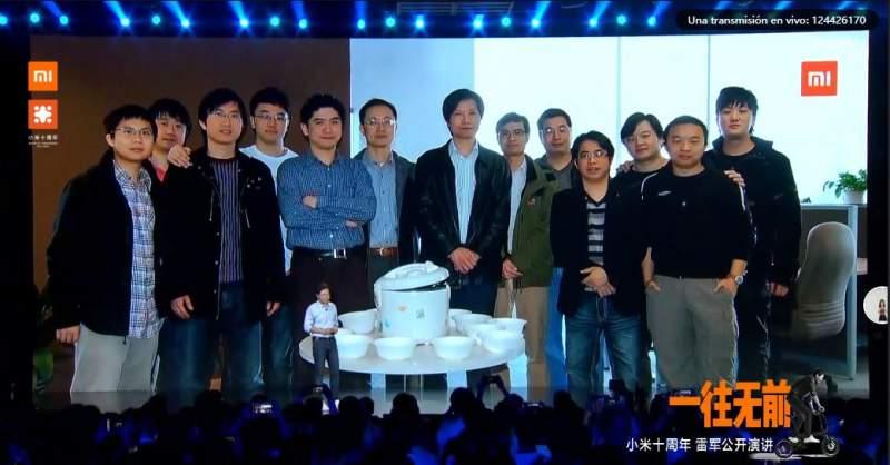 Xiaomi equipo