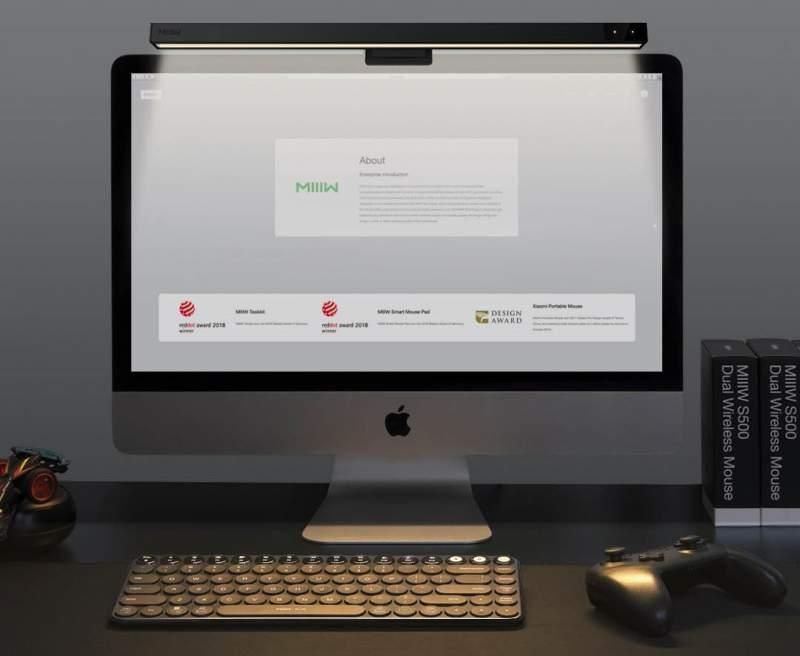 Lámpara monitor MIIIW Xiaomi, lo último de Youpin - Noticias Xiaomi