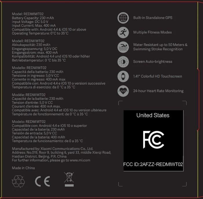 Xiaomi Mi Watch Lite se muestra y es un Amazfit Bip mejorado