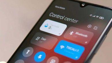 Xiaomi MIUI 12 Centro de Control / Xiaomi notificaciones