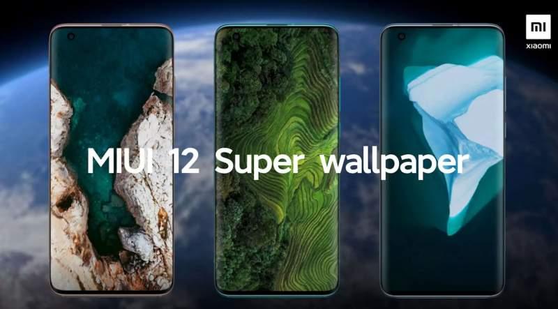 Super Wallpapers de MIUI 12- cómo habilitarlos en cualquier Xiaomi, Redmi o POCO Xiaomi4mi
