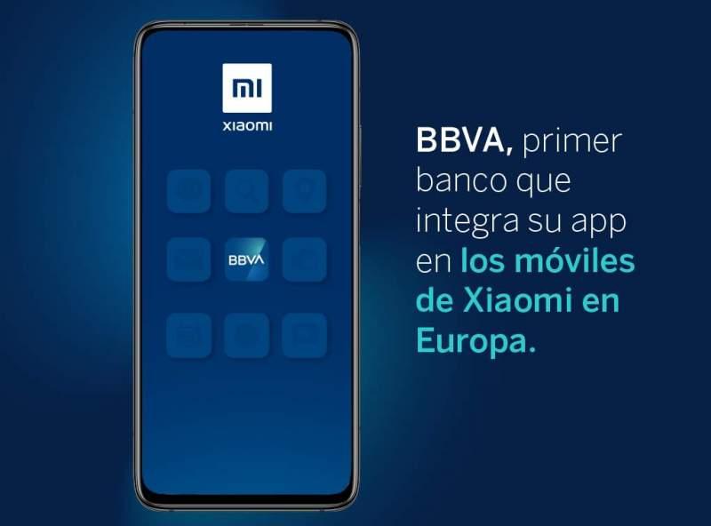 Xiaomi BBVA app