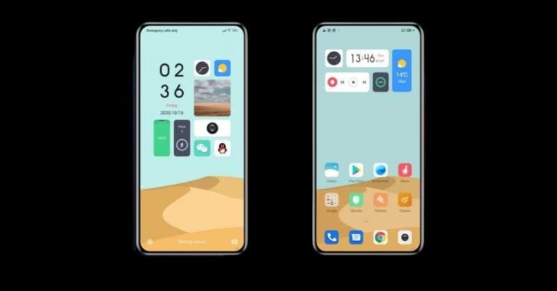 OriginOS Xiaomi MIUI 12
