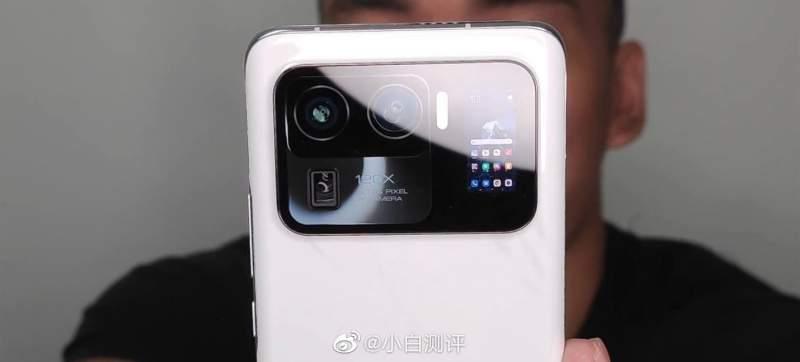 ¡Impresionante el Xiaomi Mi 11 Ultra y su pantalla secundaria!