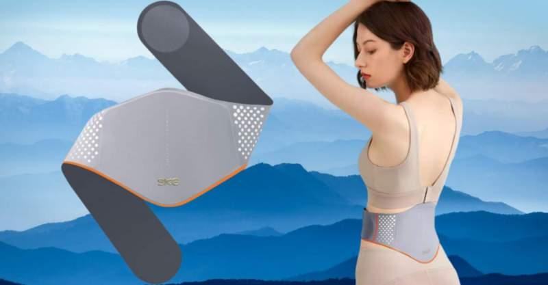 Así es el cinturón de masaje SKG W5 que Xiaomi vende en Youpin