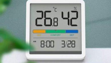 Higrómetro con medición de temperatura a la venta en Youpin