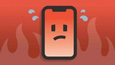 Sobrecalentamiento del móvil