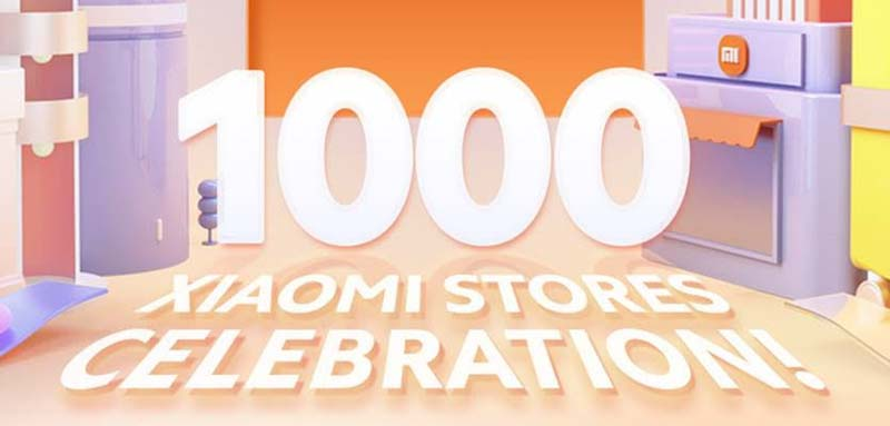 Xiaomi Mi Store Celebration